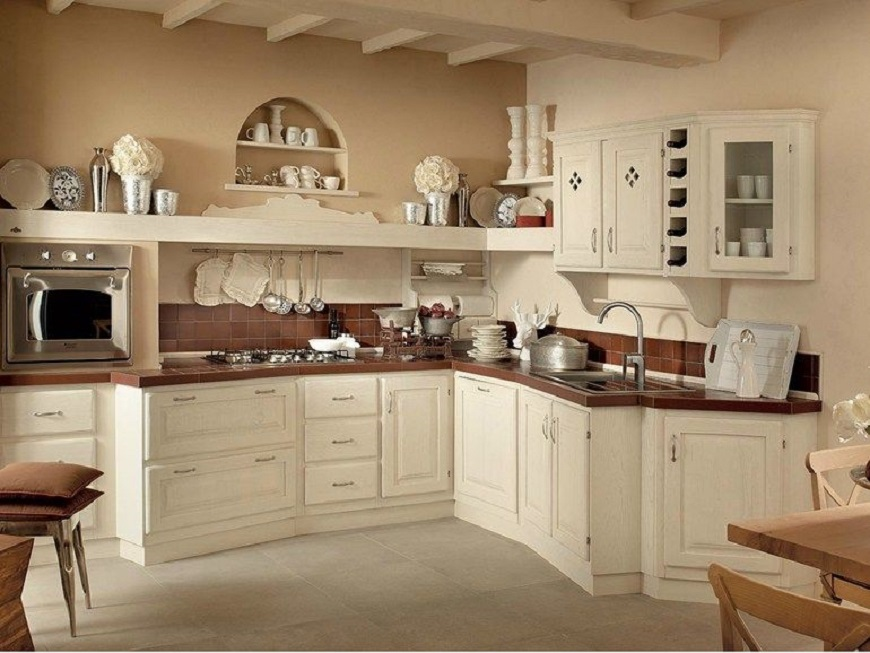 cucina country chic